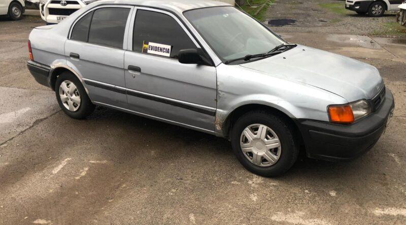 PDI recupera en Rancagua auto robado en Paine